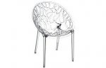 Designerskie krzesło